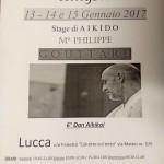 Stage di Aikido con Philippe Gouttard, Lucca