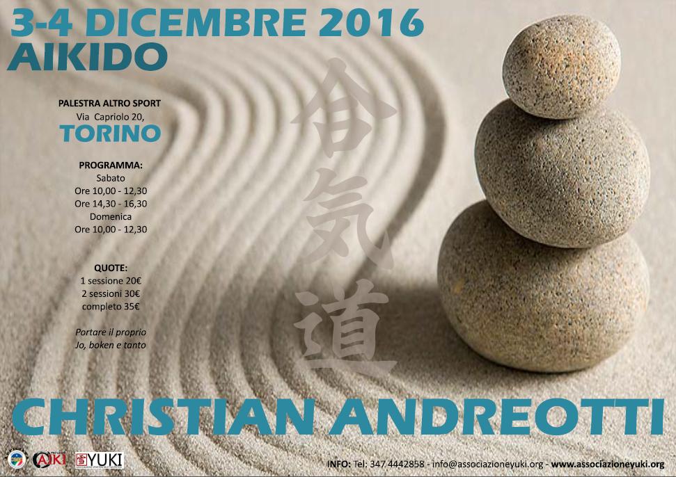 Stgae di Aikido con Christian Andreotti a Torino