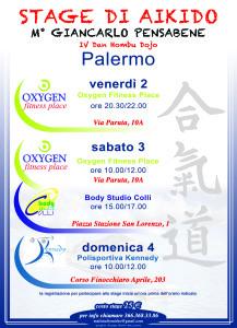 Stage di Aikido con Giancarlo Pensabene a Palermo