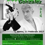 Stage di Aikido con Bruno Gonzalez a Roma
