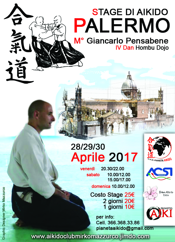 Stgae di Aikido con Giancarlo Pensabene
