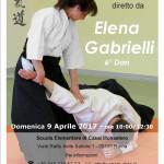 Stage di Aikido con Elena Gabrielli organizzato da Yanagi Dojo, Roma