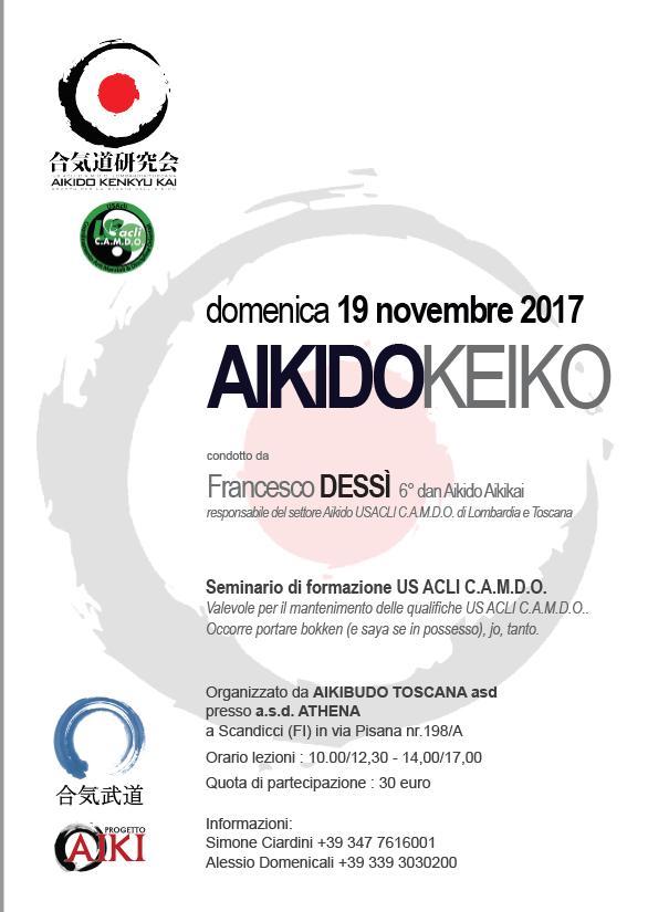 Stage di Aikido, Francesco Dessì, Aikibudo Toscana