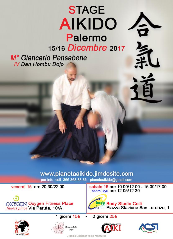 Stage di Aikido, Giancarlo Pensabene, Pianeta Aikido