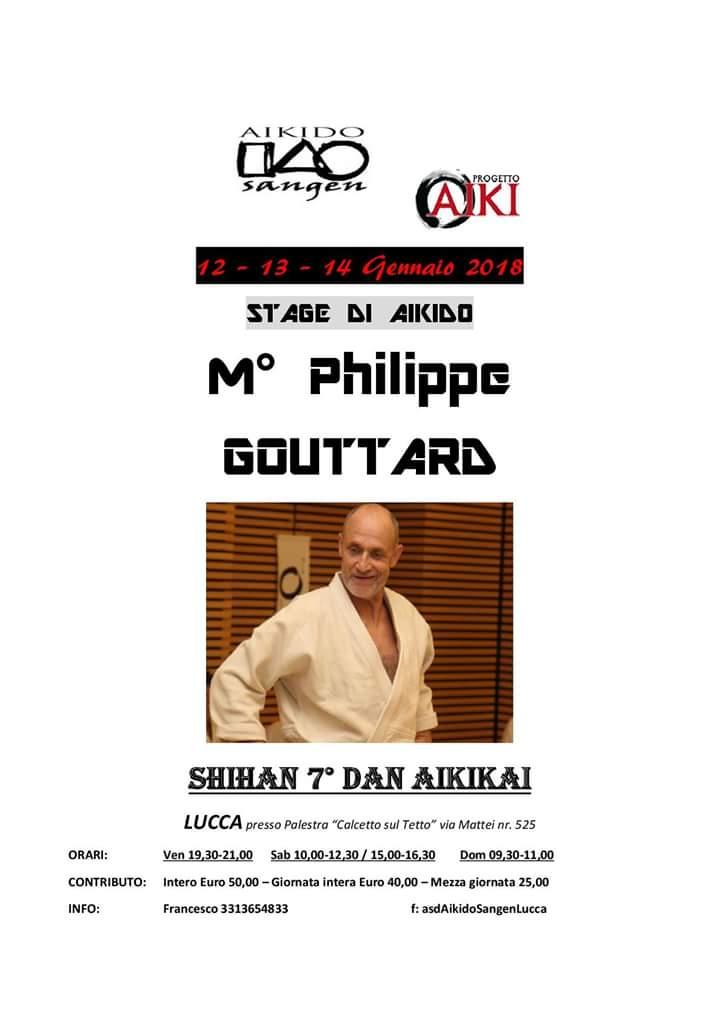 Stage di Aikido, Philippe Gouttard, Lucca