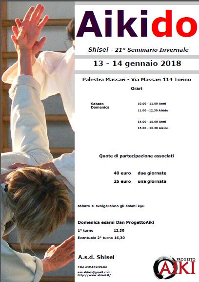 Stage di Aikido, Shisei, Torino, Dellisanti