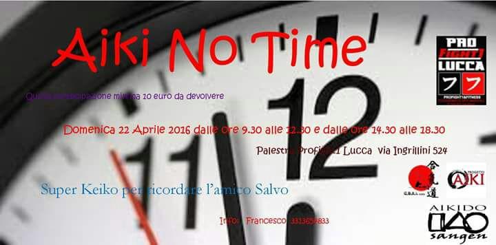 Seminario di Aikido, Aiki No Time, San Filippo, Lucca, Aikido Sangen