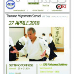 Stage di Aikido, Tsuruzo Miyamoto, Settimo torinese, Renwakai Italia