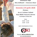 Stage di Aikido, Nino Dellisanti, Francesco Dessì, Massa, ProgettoAiki