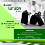 Stage di Aikido, Alessio Autuori, Roma, Yanagi