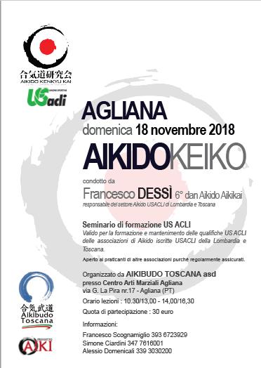 Stage di Aikido, Francesco Dessì, Aikibudo Toscana, Agliana