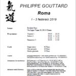 Stage di Aikido, Philippe Gouttard, Aikido 2000, Roma