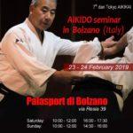 Stage di Aikido, Takeshi Yamashima, Bolzano, Aikido Club Bozen