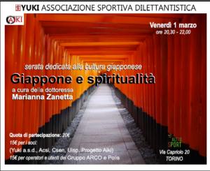 Giappone e spiritualità, cultura giapponese, Yuki, Torino