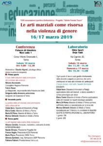 Aikido Female Touch, Yuki, Conferenza, Torino