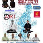 Vivicittà, Palermo, Hikari ASD, Esibizione in armature da samurai, Iaido, Aikido