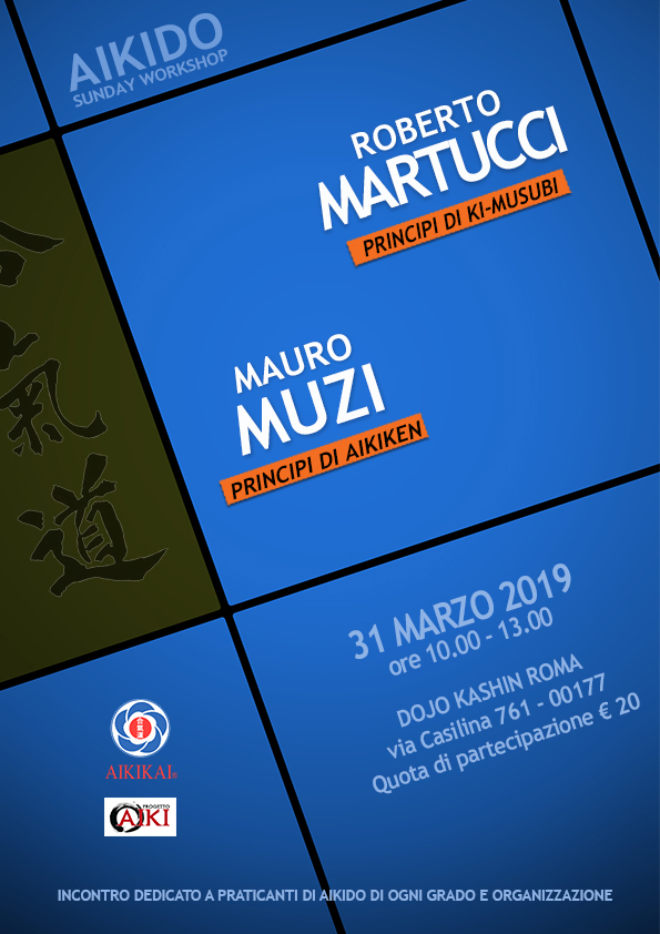 Martucci, Muzi, Aikido Sunday Workshop