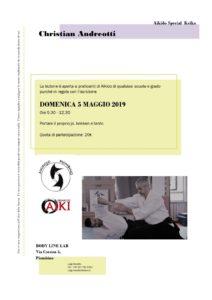 Stage di Aikido, Christian Andreotti, Piombino, Aikibudo Toscana, Aikidojo Piombino