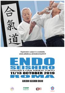 Endo Seishiro, Aikido Kashin Roma