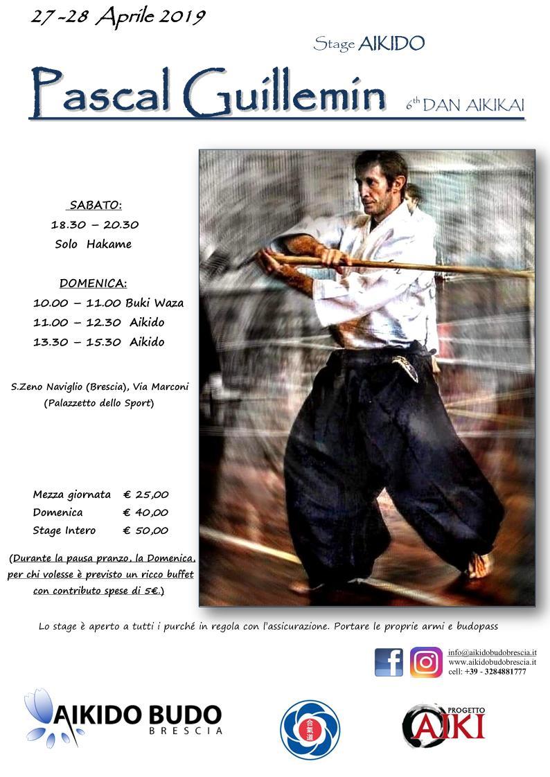Stage di Aikido, Pascal Guillemin, Brescia, Aikido Budo Brescia