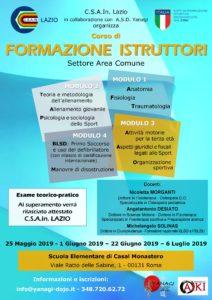 Corso di formazione istruttori, Yanagi, Roma, ProgettoAiki