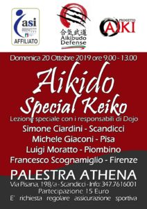 Aikido special keiko, Simone Ciardini, Michele Giaconi, Luigi Moratto, Francesco Scognamiglio, Scandicci