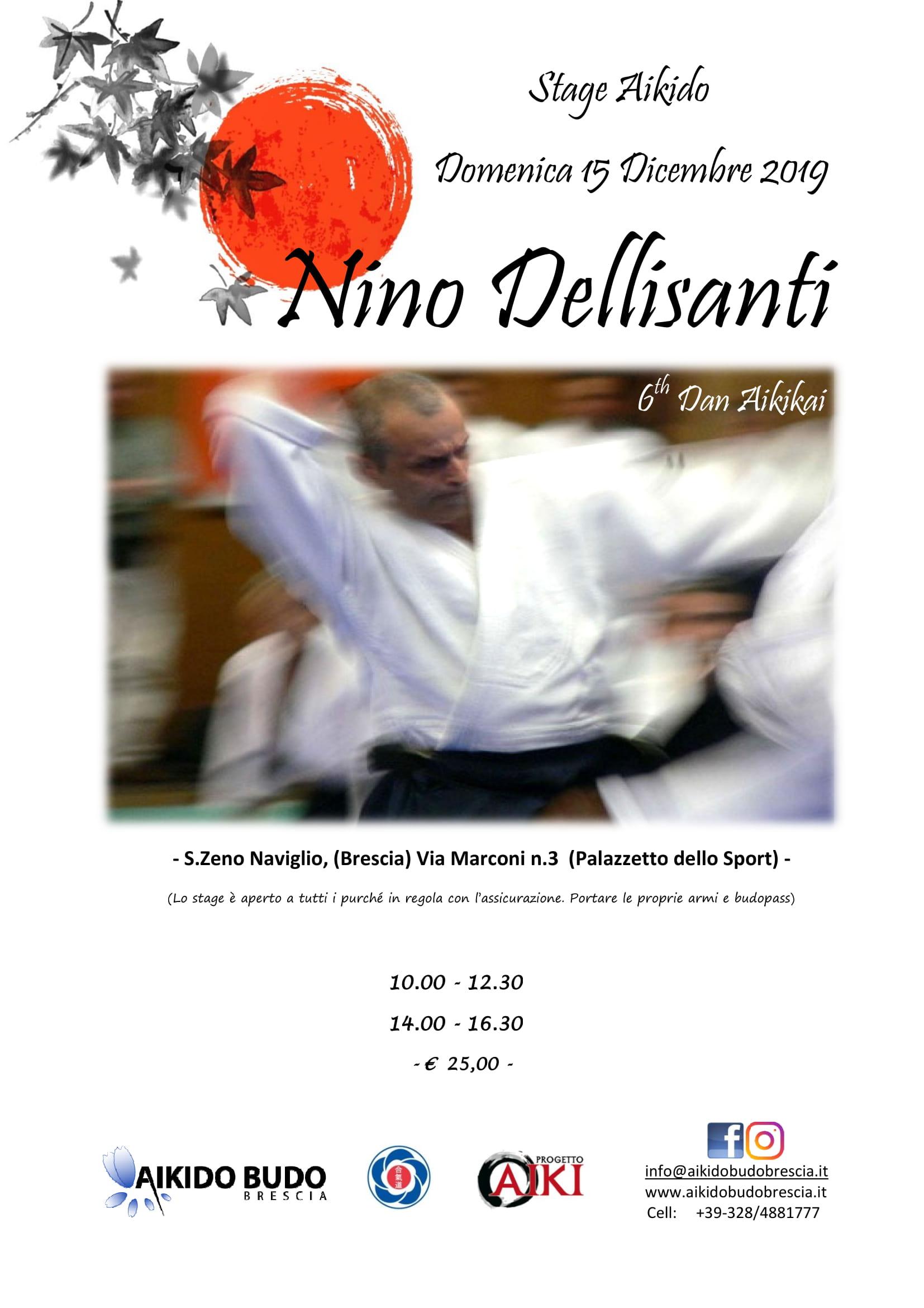 Stage Aikido- Nino Dellisanti - 15 dic 2019 - ASD Aikido Budo Brescia