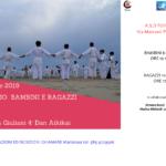 ASD Fujiyama Pietrasanta - Stage Bambini - 01 Dic. 2019