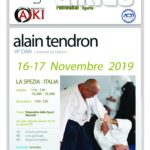Stage - Alan Tendron- 16-17 NOV. - LA SPEZIA