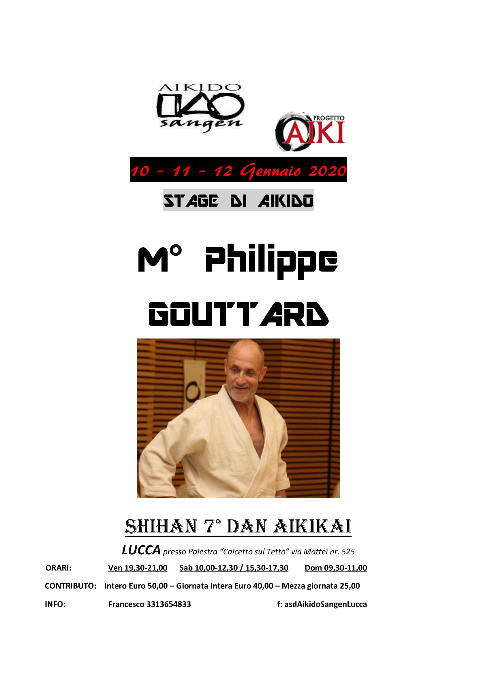 10-11-120 GENN 2020 Stage di Aikido - Philippe Gouttard - Lucca