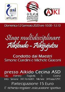 S. Ciardini - M. Giaconi 12-1-2020. Stage Multidisciplinare - Cecina