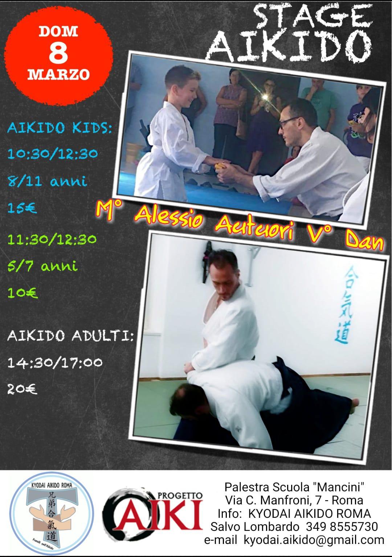 08-03-2020 - Stage Aikido - Alessio Autuori - Roma