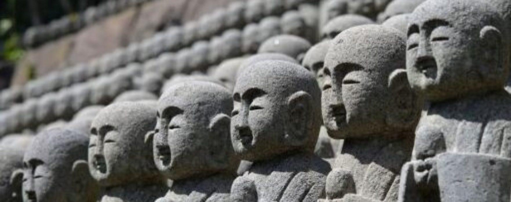 Jizo e il culto Mikuzo Kuyo