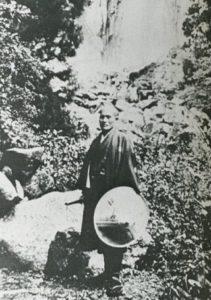 Ueshiba a Kumano1925