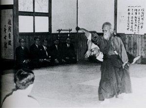 Ueshiba a Tokyo1966