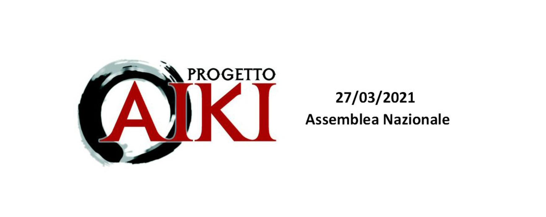 Assemblea Nazionale 2021 ProgettoAiki