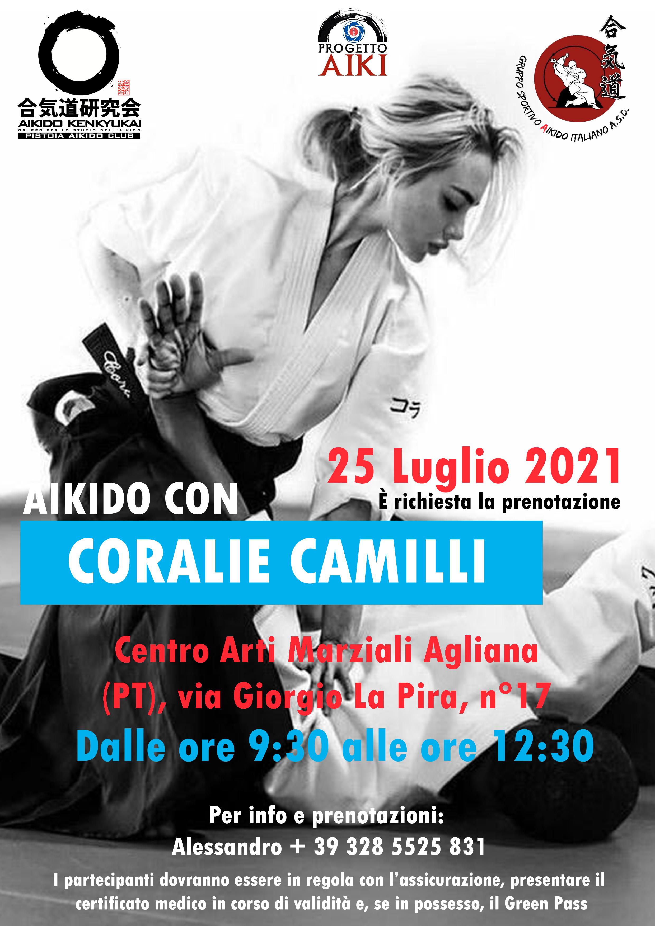 Aikido Allenamento, Maestra Coralie Camilli , Agliana Pistoia, Gruppo Sportivo Aikido Italiano ASD, Pistoia Aikido Club